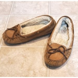 UGG Chestnut Tan Moccasin Shoes Slippers